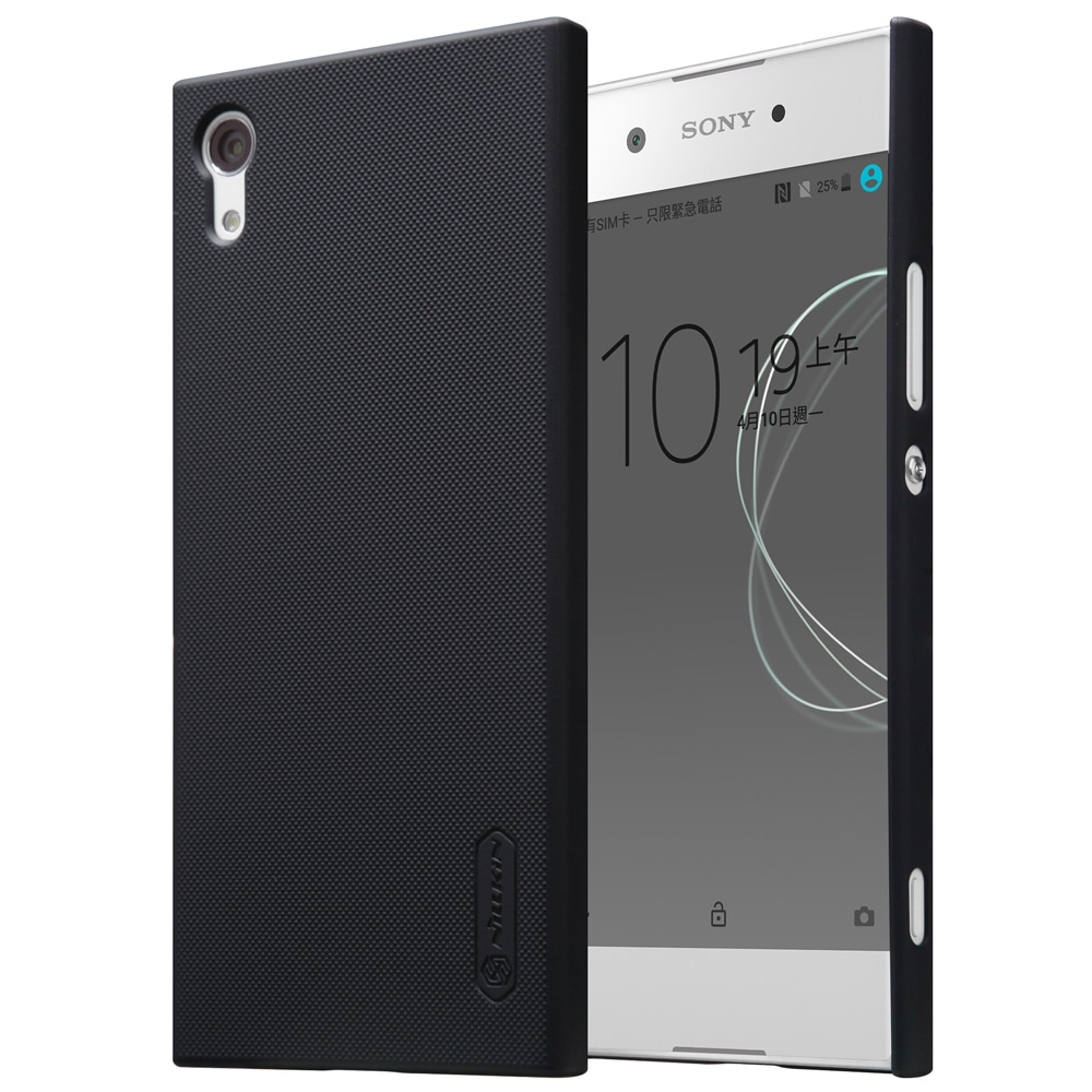 Sony Xperia XA1 Frosted Shield Hard Back Cover by Nillkin - Black