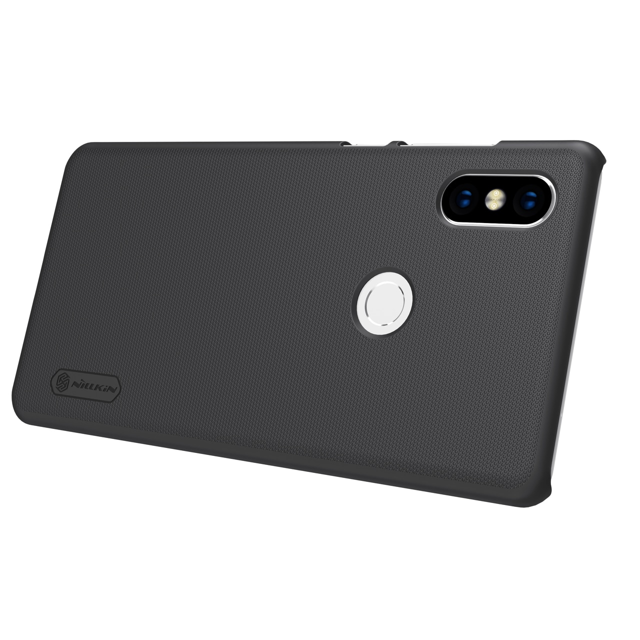 Mi Mix 2S Frosted Shield Hard Back Cover by Nillkin - Black