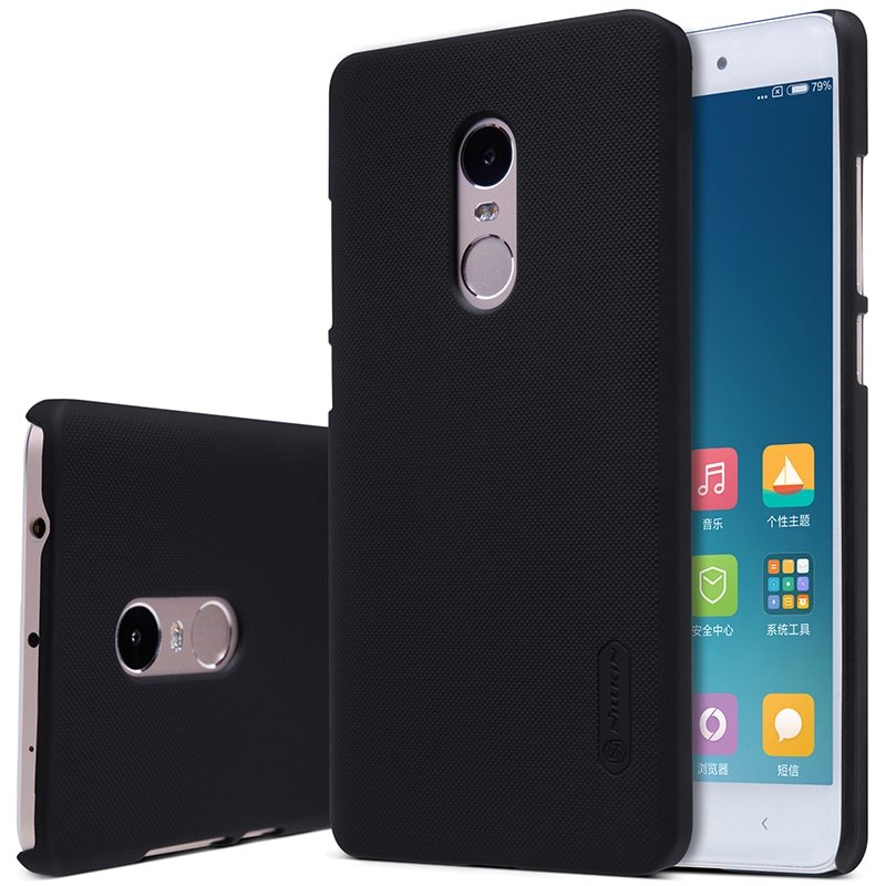 Xiaomi Redmi Note 4 / 4X Hard Back Cover by Nillkin - Black - Pakistani Variant Compatible