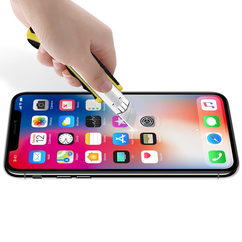 Apple iPhone XS Nillkin Full Coverage 3D CP+ MAX Tempered Anti-Explosion Protector