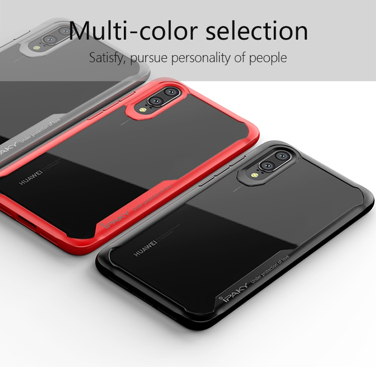 Huawei P20 Lite Survival Series Tough Anti Scratch Case by iPaky - Red