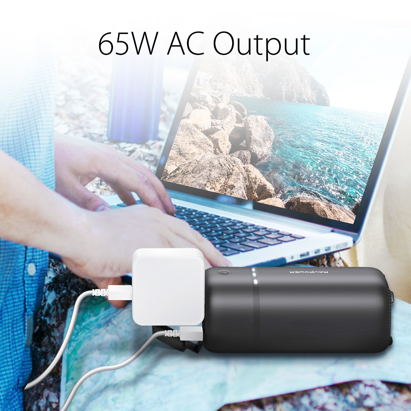 travel powerbank with ac outlet